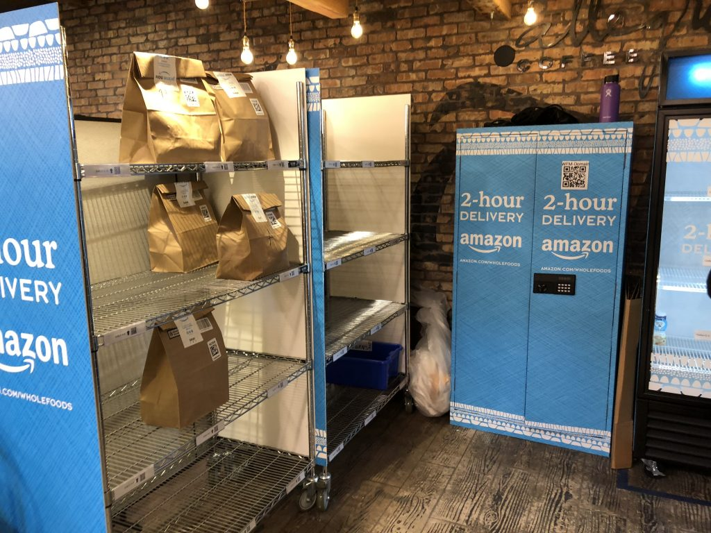 Whole Foods + Amazon Pick-up Shop
